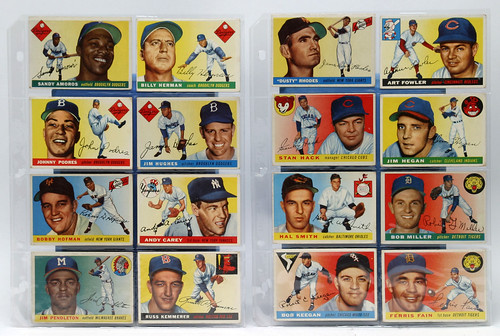 2 Lots of 1950's Baseball Cards ($418.00 & $247.50)