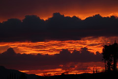 Sunset 3 5 2017 #12 (Az Skies Photography) Tags: sun set sunset dusk twilight nightfall cloud clouds sky skyline skyscape red orange salmon golden gold black rio rico arizona az riorico rioricoaz arizonasky arizonaskyline arizonaskyscape arizonasunset canon eos rebel t2i canoneosrebelt2i eosrebelt2i march 5 2017 march52017 3517 352017