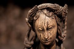 Wooden Face (campra) Tags: germany deutschland cologne koln koeln museum schnutgen schnuetgen middleages medieval sculpture wood