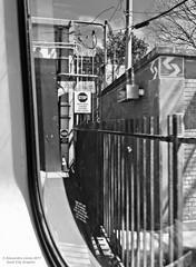 Wait until leader clears the lunar (goofcitygoof) Tags: picmonkey septa trolleytunnel stop