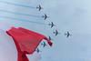 Patrouille de France / Alpha Jet (VinRi) Tags: show sky paris france plane canon de eos fly flag air jet meeting du l salon alpha 70200 serie f28 drapeau tricolore patrouille 600d bougert