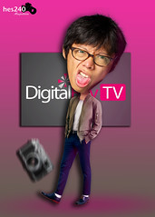kai man wong the funny presenter (hes240) Tags: man photo tv funny manipulation kai wong presenter digitalrev
