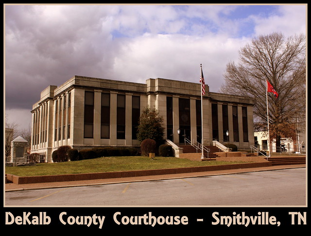 For Sale: TN Courthouse Postcard Collection: DeKalb