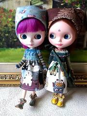 2 knit top dresses