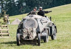 Battle for the Moravian gate (The Adventurous Eye) Tags: world red two army war wwii battle games historic ww2 presentation reenactment werhmacht 2015 cihelna bitvaomoravskoubrnu