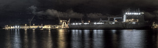 Woolloomooloo Bay at Night