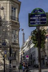 Place Salvador Allende, Paris (IFM Photographic) Tags: paris france canon eiffeltower sp latoureiffel 75007 tamron 7th f28 7me gustaveeiffel 7e 600d 1750mm ladamedefer 7tharrondisment tamronsp1750mm placesalvadorallende img1916a arondisment tamronsp1750mmf28diiivc