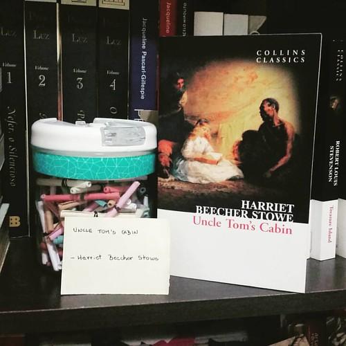 Harriet Beecher Stowe book fan photo