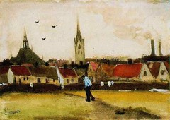 vangogh_view_hague_with_new_church_1882 (Art Gallery ErgsArt) Tags: museum painting studio poster artwork gallery artgallery fineart paintings galleries virtual artists artmuseum oilpaintings pictureoftheday masterpiece artworks arthistory artexhibition oiloncanvas famousart canvaspainting galleryofart famousartists artmovement virtualgallery paintingsanddrawings bestoftheday artworkspaintings popularpainters paintingsofpaintings aboutpaintings famouspaintingartists