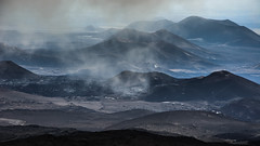 Tolbachik Cinder Cones (kuhnmi) Tags: nature clouds landscape volcano cloudy cone russia natur volcanoes landschaft cinder cindercone vulkan kamchatka russland    landscapephotography volcaniclandscape vulkane  schlacke vulkanlandschaft   schlackenkegel  landschaftsfotographie tolbachik