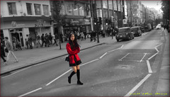 `1532 (roll the dice) Tags: life china road uk portrait england people urban blackandwhite blur colour bus sexy london art classic girl westminster smile rose shopping asian fun effects pretty sad view cross traffic natural legs boots candid cab taxi magic chinese streetphotography thorntons stranger tourist pop busy unknown shops mad w1 westend pvc unaware londonist fashiob seective
