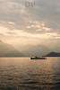 Before The Dusk (Daniele Pauletto) Tags: light sun lake como clouds lago boat barca tramonto nuvole dusk bellagio rays sole autunno raggidiluce dpphotography