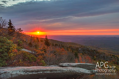 Rough Ridge Sunrise - Fall 2015 (APGougePhotography) Tags: mountains detail fall rock nikon north clarity northcarolina ridge carolina rough boone blueridgeparkway blueridge blowingrock topaz brp d600 roughridge denoise topazlabs nikond600 apgphotography topazdenoise topazdetail topazclarity