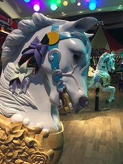 (Nancy D. Brown) Tags: horse carousel royalcaribbean carouselhorse rccl oasisoftheseas