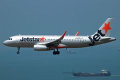 JA20JJ Airbus A320-214 JJP  HKG (Jetstar31) Tags: airbus hkg jjp a320214 ja20jj