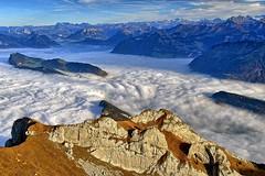 above the fog (Aerdnasworld) Tags: luzern pilatus nebelmeer