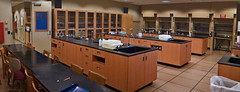 Chemistry Classroom 10/15/2015 (SinclairCommunityCollege) Tags: ohio college community lab science chemistry particle biology chemicals dayton beaker atoms sinclair chemist