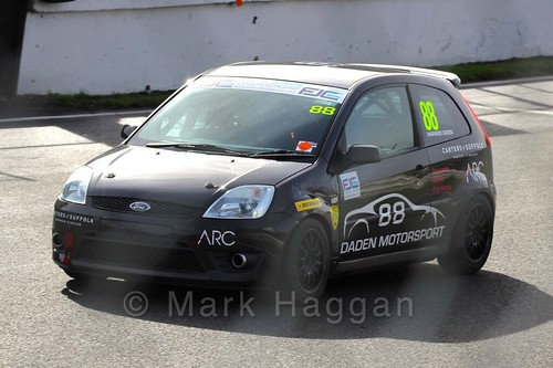 Warwick Daden in the Fiesta Junior Championship, Brands Hatch, 2015
