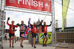 OA - crossing the finish line