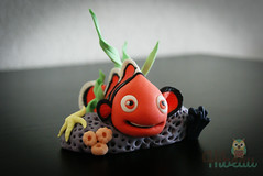 Hibeau (hibeau.cakedesign) Tags: cake design nemo disney pixar cakedesign hibeau hibeaucakedesign