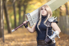 Cloud Strife (azproduction) Tags: blonde sword finalfantasy cloudstrife finalfrantasyvii