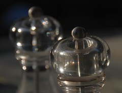 Assalting the Senses! (antonychammond) Tags: pepper salt condiments peppergrinder autofocus saltcellar