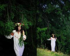 (prumara) Tags: green pine embroidery traditions ukraine wreath ukrainian carpathians vyshyvanka nationalstyle
