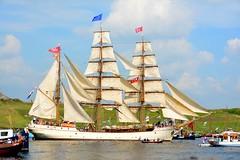 Sail 2015 – Europa (Michiel2005) Tags: holland netherlands amsterdam boot boat europa ship nederland sail lightship zeilschip schip sailamsterdam sailingvessel lichtschip senatorbrockes sail2015 sailamsterdam2015 elbe4