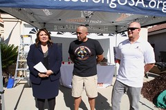 Homestrong USA and Wells Fargo and Sgt. Mark Romo