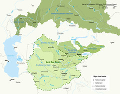 Central Asia major river basins (Zoi Environment Network) Tags: sea water ecology river map basin area environment caspian geography tajikistan northern chu uzbekistan centralasia kazakhstan kyrgyzstan aral territory ural turkmenistan hydrology moneca talas syrdarya amudarya
