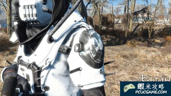 異塵餘生4 高端護欄裝甲配白色狙擊槍MOD