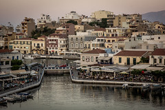 Evening in Ayios Nicolaos, Crete (iamChristo) Tags: europe greece crete agiosnickolaos