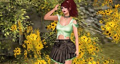 379 - Rilla (Sannita_Cortes) Tags: fashion female truth sl secondlife styles ikon zoz kosh virtualworld dafnis slink kibitz virtualfashion groupgift glamaffair loordesoflondon pixra
