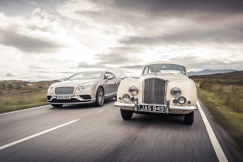 Bentley R-Type Continental and Bentley Continental GT Speed