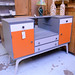 Quay designs retro hand painted sideboard