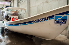 Entrega do barco para o CEM (ufpr) Tags: litoral cem mar pontal paraná barco estudos ufpr entrega centro de do nova embarcação pesquisas oceânicas