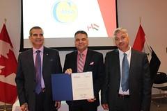 IMSA-CANADA-2016 (PRESIDENT OF IRAQI MEDICAL SCIENCES ASSOCIATION IN) Tags: canada medical iraqi sciences association kamal saleh president