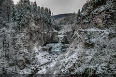 Princesse des Glaces (Fred&rique) Tags: lumixfz1000 photoshop cascade jura billaude glace hiver froid franchecomté neige paysage nature