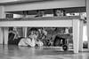 Hide and seek (jayneboo) Tags: 365 children play grandchildren roni ben norah bw mono games