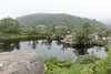 Pond (villeah) Tags: pond path landscape tree nature hiking preikestolen pulpitrock view scenery norway people rogaland no