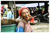 Bắc Hà District (tote_nos) Tags: vietnam canon canon5d reflex viaggio trip oriente honeymoon vietnamcambodia 2016 october backpacking backpack backpacker colors woman old age lady market clothes east ba ha district bacha