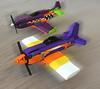 Purple is FAST!!! (tbone_tbl) Tags: rare bear bearcat reno air racig racing plane airplane f8f p51 p 51 voodoo lego races national championship nevada valley speed foitsop
