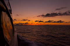 Sailing into sunset (malc1702) Tags: ocean sunset nikond7100 nikkor18140mm nature sundown sea waves travel travelphotography vacation sailing orangeglow darkclouds