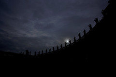 Rome - St. Peter's Square (na_photographs) Tags: vatican church dark roma rom