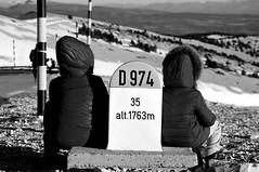 contemplation (delphine imbert) Tags: vue montagne mont ventoux monochrome noir blanc