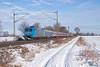 "185 511 ""Railtraxx"" mit SchneeExpress Lr - 15.01.2017 - Twistringen (D) (Frederik L.) Tags: db bahn zug eisenbahn sonderzug euroexpress rollbahn bahnhof twistringen baureihe 185 schnee express winter"