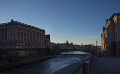 Riksdagen och Rosenbad (Yvonne L Sweden) Tags: water december sweden stockholm bridge bro cityscape
