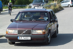 Volvo 940 Taxi (peterolthof) Tags: kraków peterolthof volvo 940 taxi