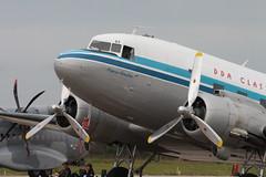 2016-06-11; 522. Dutch Dakota Association DC-3 PH-PBA, Luchtmachtdagen Leeuwarden (Martin Geldermans; treinen, Züge, trains) Tags: f35 catelina dutchdakotaassociation dda luchtmachtdagen2016 leeuw