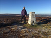 1 of 52 trig points (Ron Layters) Tags: 2017 ronlayters selfportrait 52trigpoints burbageedge trigpoint winter cold frost frozen moorland moor shiningtor catstor vista landscape pillar tp1769 fbs4232 buxton derbyshire england unitedkingdom 52 phonecamera iphone apple appleiphone6 selftimer tripod 10secondtimer weekone 52weeks week1 1